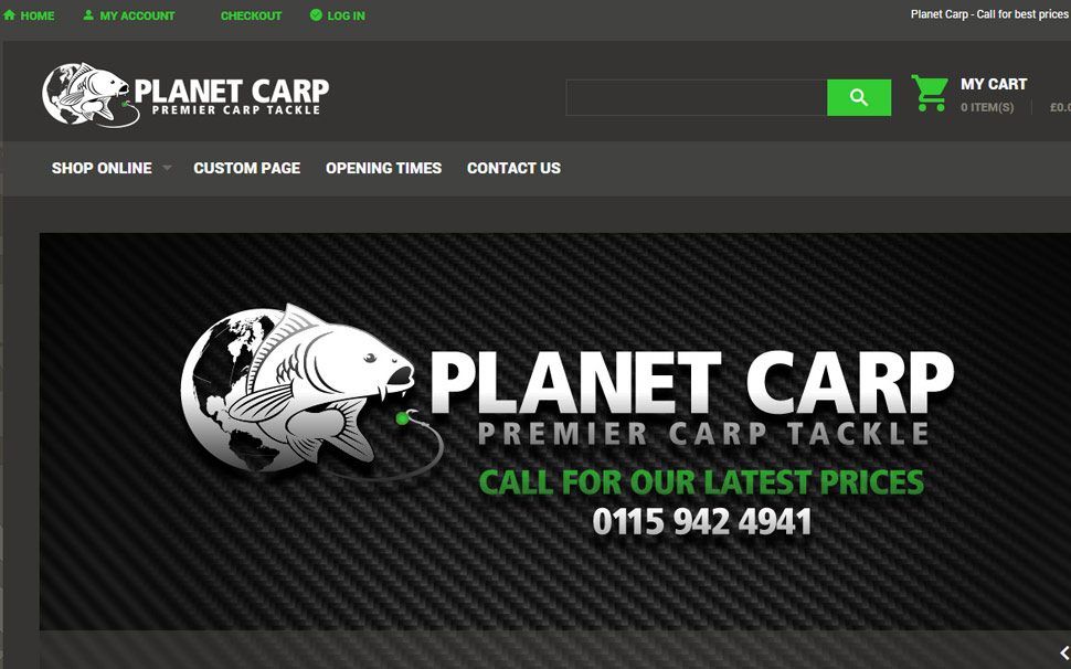 Logo Design / e-Commerce Planet Carp